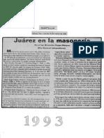 19930316 Juarez en La Masoneria