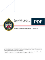 2014 Annual Hate Bias Crime Statistical Report