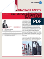 Standard Safety High Voltage 12