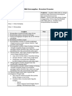 Daftar Tilik Keterampilan Resusitasi Neonatus