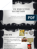 Cmu vs Executive Secretary --Envilaw Digest
