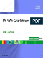ECM Essentials_IBM FileNet CM