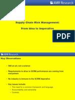 Risk of SCM