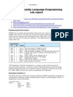 MARIE Assembly Language Programming Lab Report