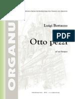 Bottazzo - Otto Pezzi Facili Per Organo Od Armonio - Op. 203