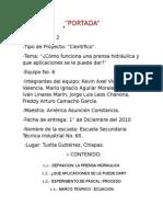Proyecto, La Prensa Hidraulica