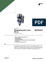 Modulating Pilot Valve PN32 M2FP 10479 Hq En