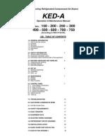 Instruction Manual KED150