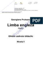 Limba Engleză_ADS Primar_Nivel 1