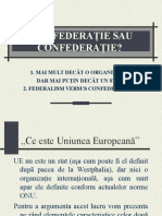 federatie UE