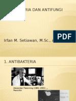 Antibakteria, Antifungi