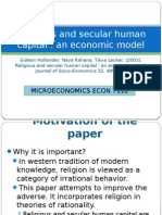 Religious and Secular Human Capital
