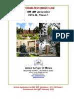 ISM JRF Brochure
