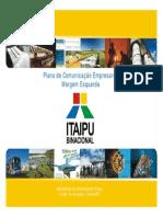 ITAIPU Plano de Comunicacao 2007