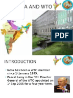 Has Been a WTO Member Since 1st