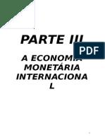 Apontamentos Economia Monetária - Parte III