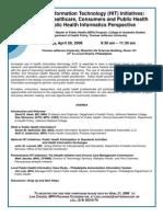 flier Public Health Informatics Seminar 04 28 2008
