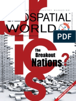 Geospatial World January 2014 Edition BRICS