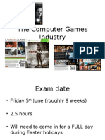Intro to Computer games