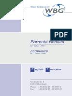 WBG Formula-Booklet E-F 2009