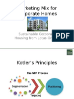 Marketing Mix for Corporate Homes.pptx