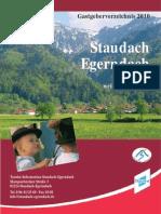 Gastgeberverzeichnis 2010
