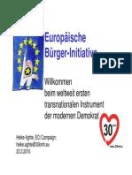 """rc15 """"Die Europäische Bürgerinitiative"""" Heike Aghte"""
