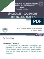SÍNDROMES CORONARIOS AGUDOS1