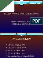 FLORA FAUNA DILINDUNGI dr Bastian.ppt