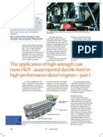 The Application of ADI in Diesel Engines