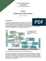 Konzept Projektseminar PI