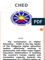CHED report