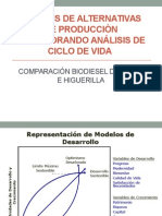 ALTERNATIVAS DE PRODUCCIÓN INCORPORANDO ANÁLISIS DE CICLO DE VIDA 1.pptx