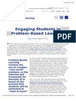 Engaging Students in Problem-Based Learning. VU5