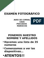 EXAMEN FOTOGRÁFICO