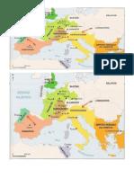 mapa reinos germanicos
