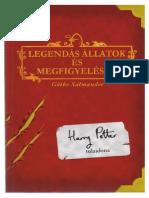 Harry Potter - Legendás állatok és megfigyelésük.pdf