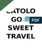 Catologo Sweet Travel