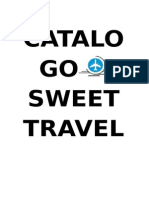 Catalogo Sweet Travel