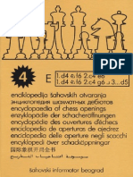 Zdenko Krnic-Encyclopaedia of Chess Openings E_4th Edition-Chess Informant (2008)