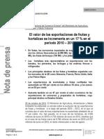 13.10.29 Informe Exportaciones Frutas y Hortalizas_tcm7-304974_noticia