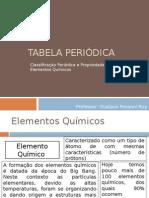 Tabela Periódica (Aula 2)