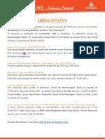 Informativo Libras Optativa_2015-1