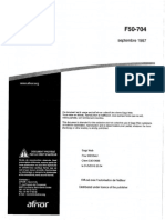 F50-704 Écartement Des Voies ferrees