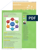 the Summary of ACCA P1 Governance, Risk and Ethics