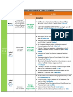 Program Agenda - 3rd NCTOH