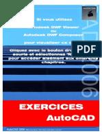 AutoCad Exercices