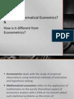 PPT Mathematical Economics 2014 15
