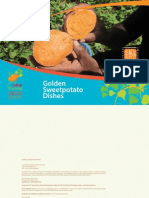 Golden Sweetpotato Dishes