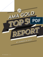 The AMA Gold Top 50 Report